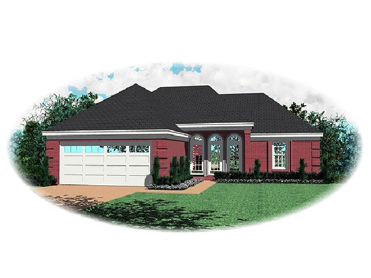 One-Story House Plan, 006H-0032