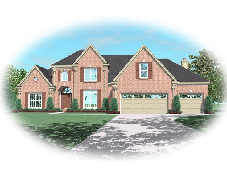 Traditional Home Plan, 006H-0091