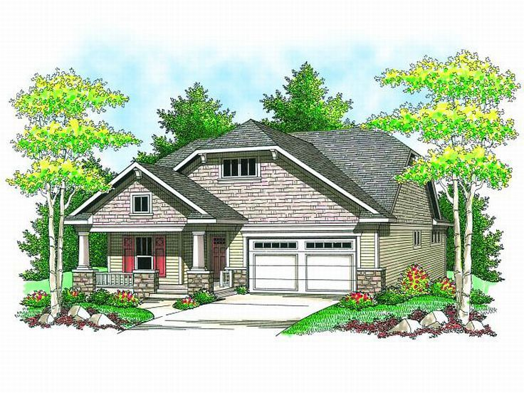 Bungalow Home Plan, 020H-0149