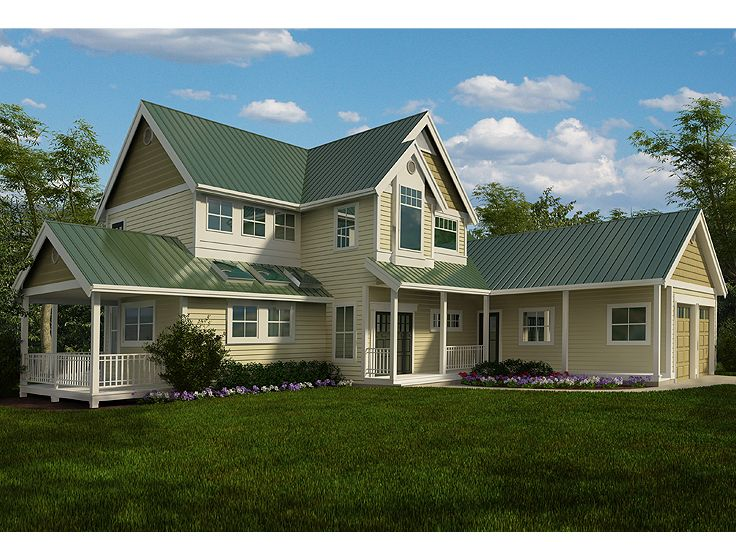Country House Design, 010H-0019