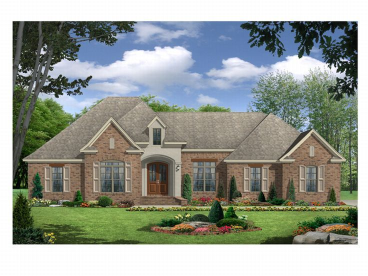 Ranch House Plan, 001H-0107