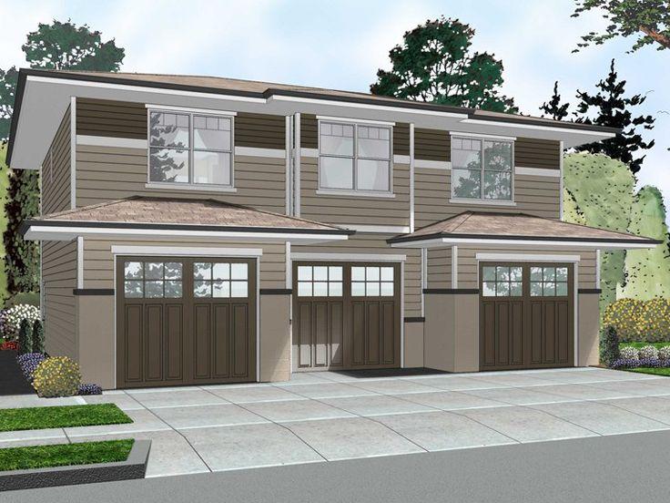 Carriage House Plans | 3-Car Garage Apartment Plan # 050G-0078 at ...