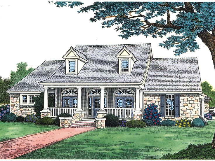 Country House Plan, 002H-0016