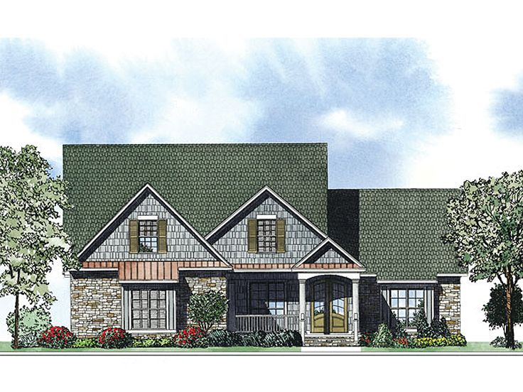 European House Plan, 025H-0252