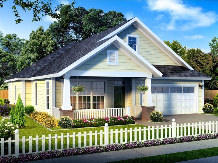 Narrow Lot House Plans Narrow Lot Ranch House Plan 059h 0175 At