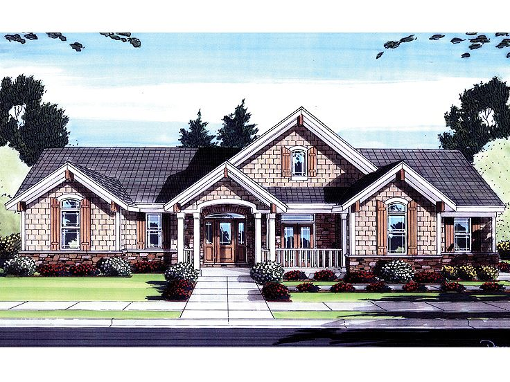 One-Story House Plan, 046H-0037