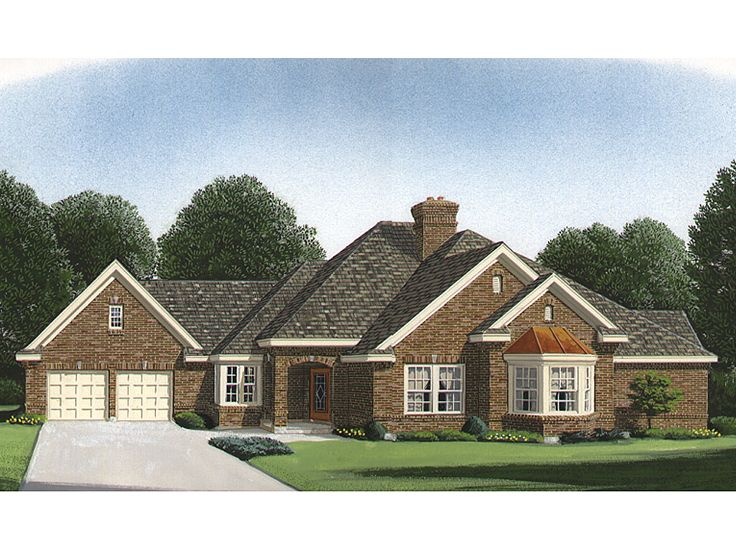Traditional Home Plan, 054H-0039
