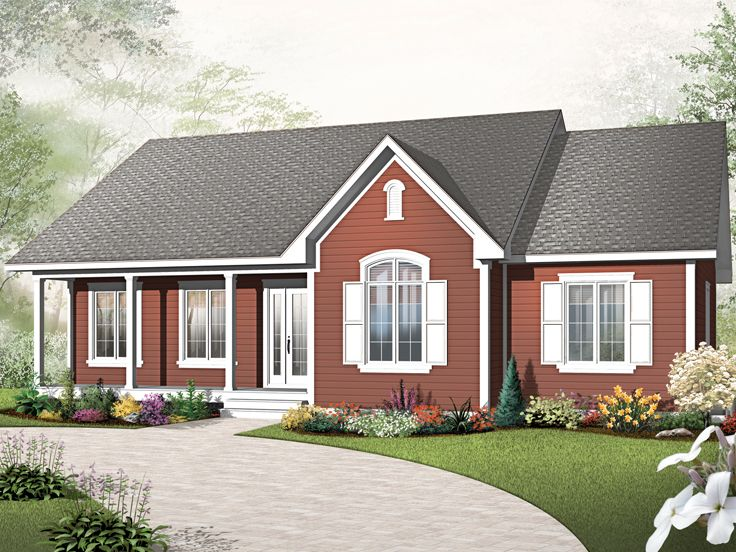 Plan 027h 0207 find unique house plans home plans and for Small starter house plans