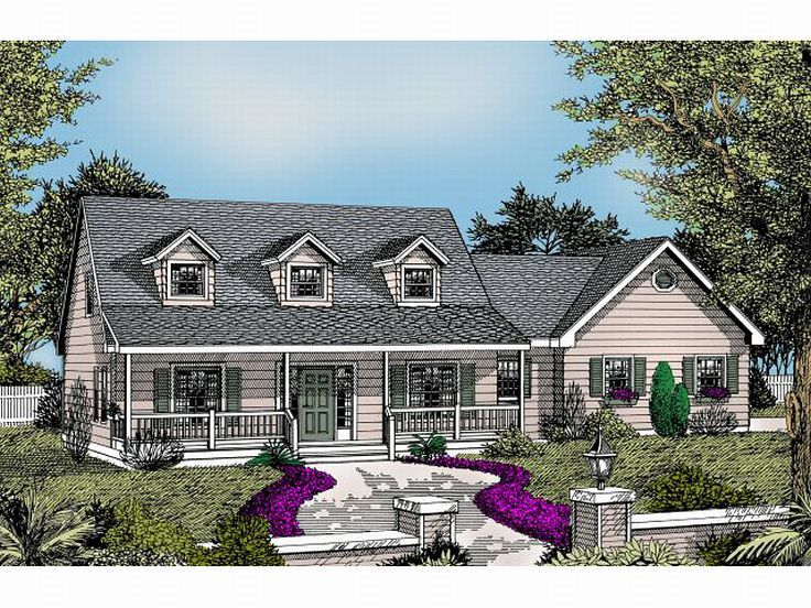 Country Home Plan, 026H-0086
