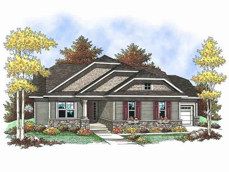 Affordable House Plan, 020H-0144