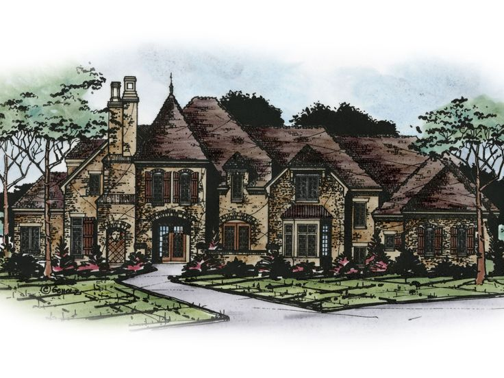 Premier Luxury House Plan, 031H-0331