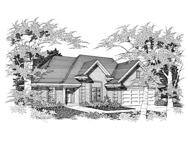 Affordable House Plan, 061H-0040