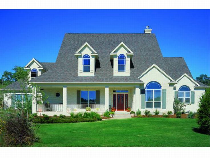 Country House Plan Photo, 036H-0029