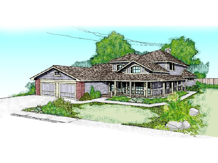 Two-Story Home Plan, 013H-0040