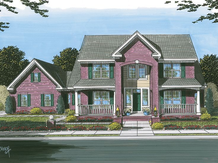 Two-Story House Plan, 059H-0098