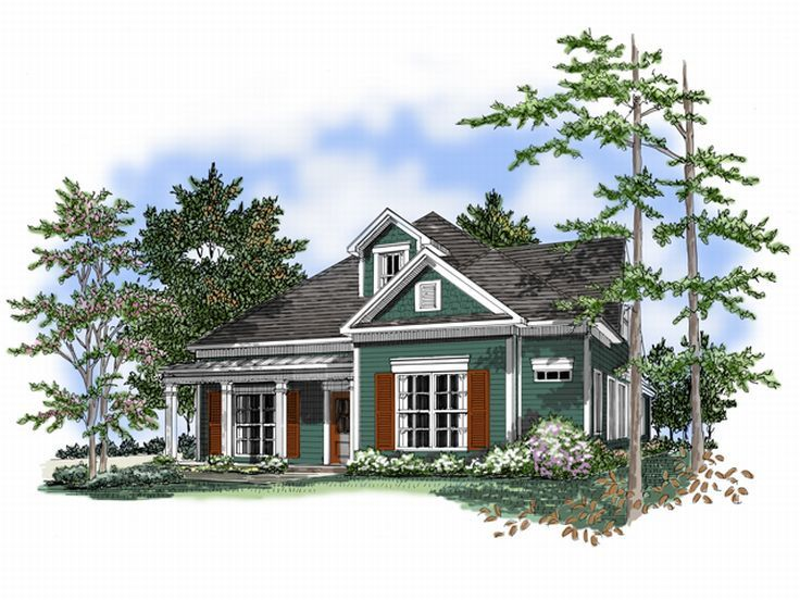 1-Story House Plan, 019H-0098