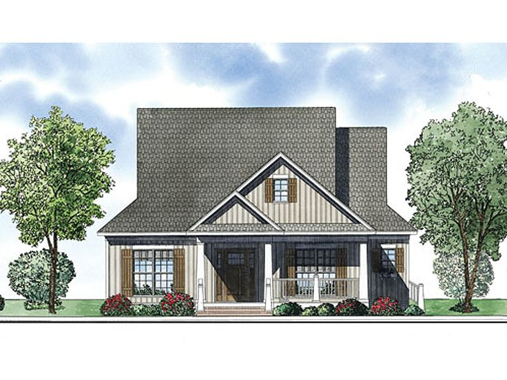 Country Home Plan, 025H-0248