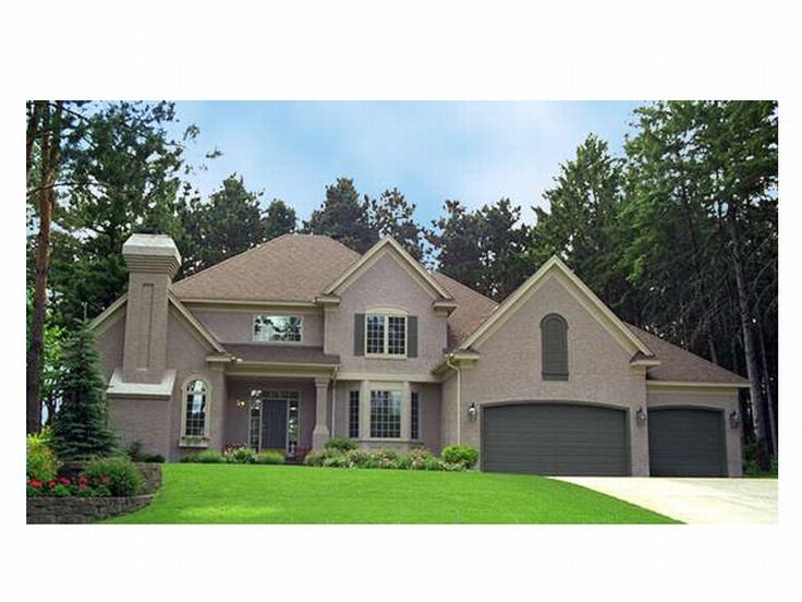2-Story House Plan Photo, 023H-0037