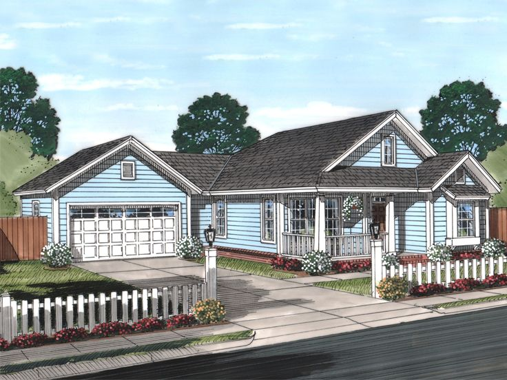 Small House Plan, 059H-0187
