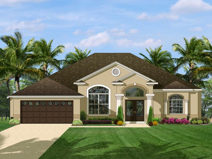 Sunbelt House Plan, 064H-0026