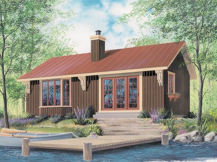 Vacation Home Design, 027H-0364