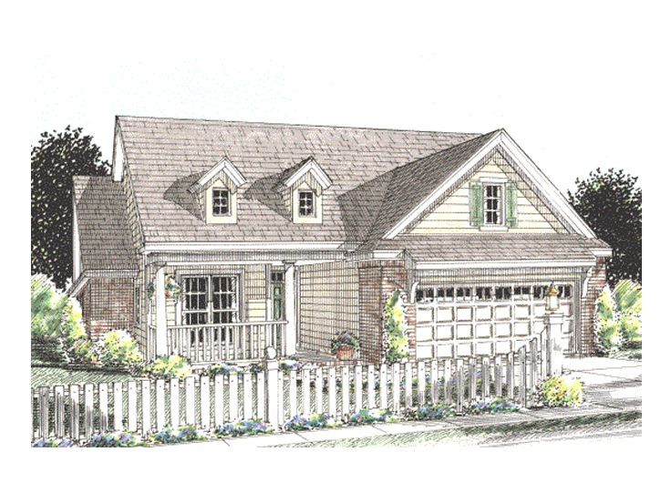 Ranch Home Plan, 059H-0078