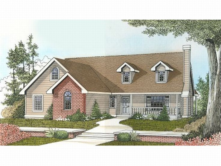 1-Story Home Plan, 026H-0097