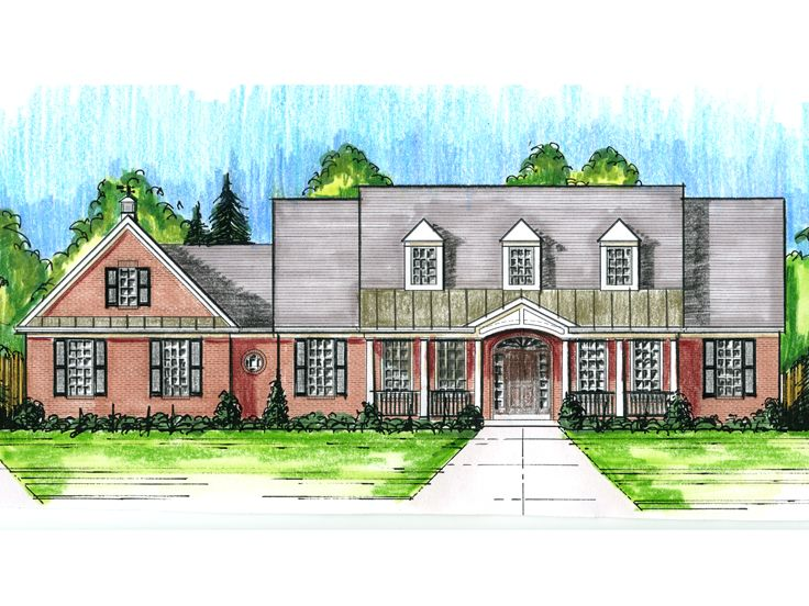 Country House Plan, 046H-0077