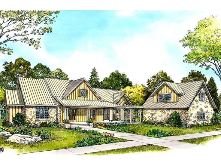 Country House Design, 008H-0042