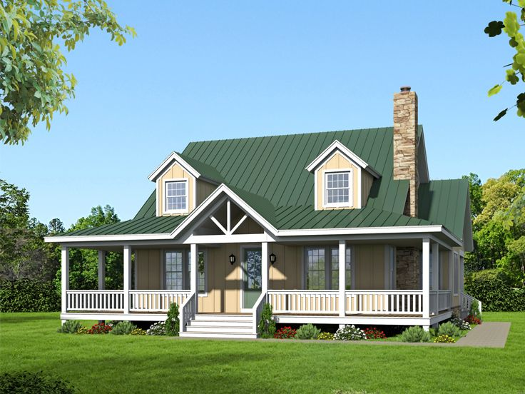 Country House Plan, 062H-0032
