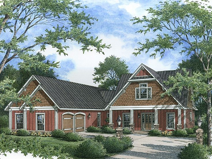 Ranch home plans ranch house plan with open floor plan for Ranch style house plans with bonus room