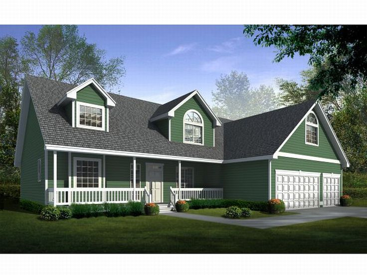 Country Home Plan, 026H-0058