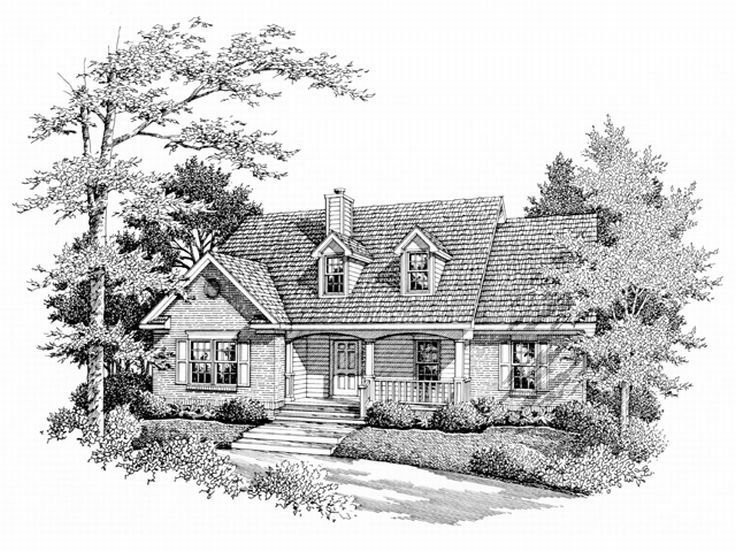 Affordable House Plan, 004H-0027