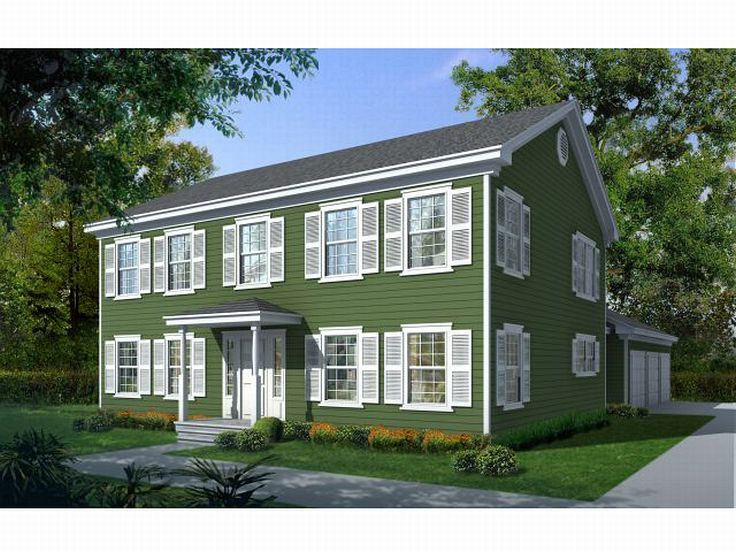 New England Home Plan, 026H-0115