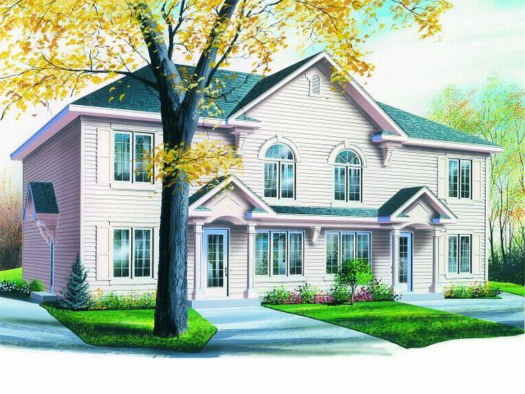 Multi Family Home Plan, 027M 0024