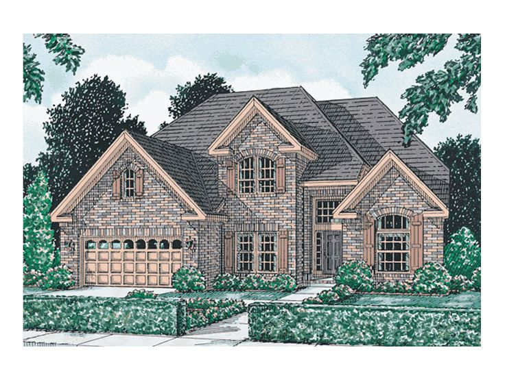 Two-Story House Plan, 059H-0030