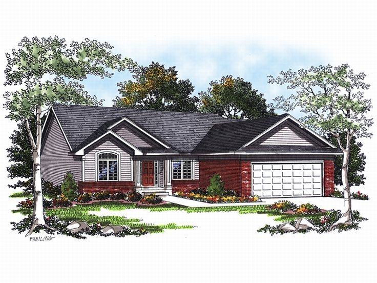 Small House Plan, 020H-0015