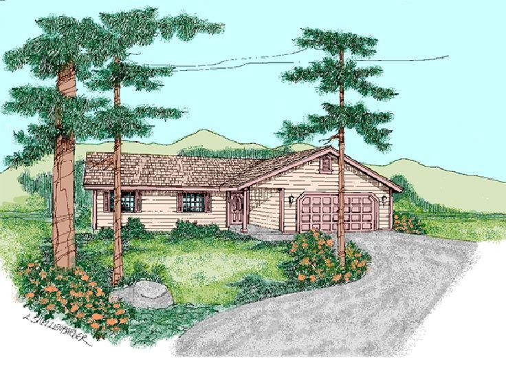 Small Home Plan, 013H-0072