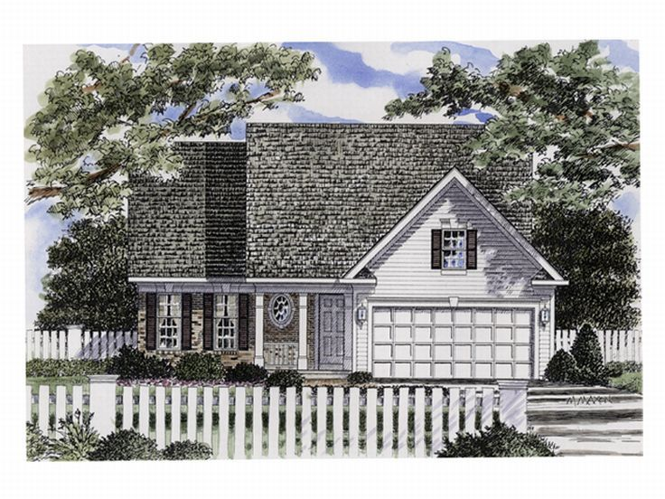 Small House Plan, 014H-0020