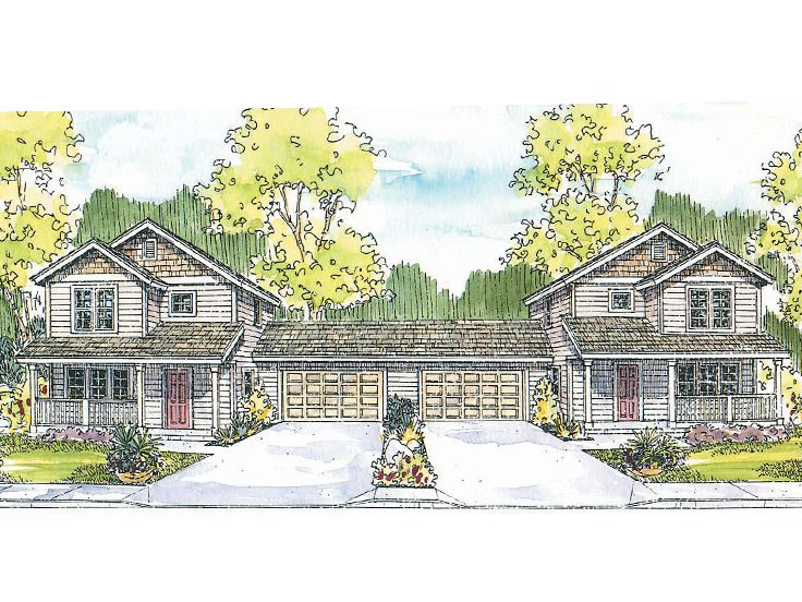 Multi-Family House Plan, 051M-0011
