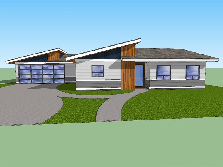 Unique House Plan, 056H-0009