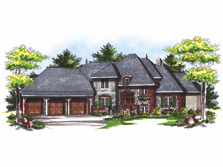 European Home Plan, 020H-0122