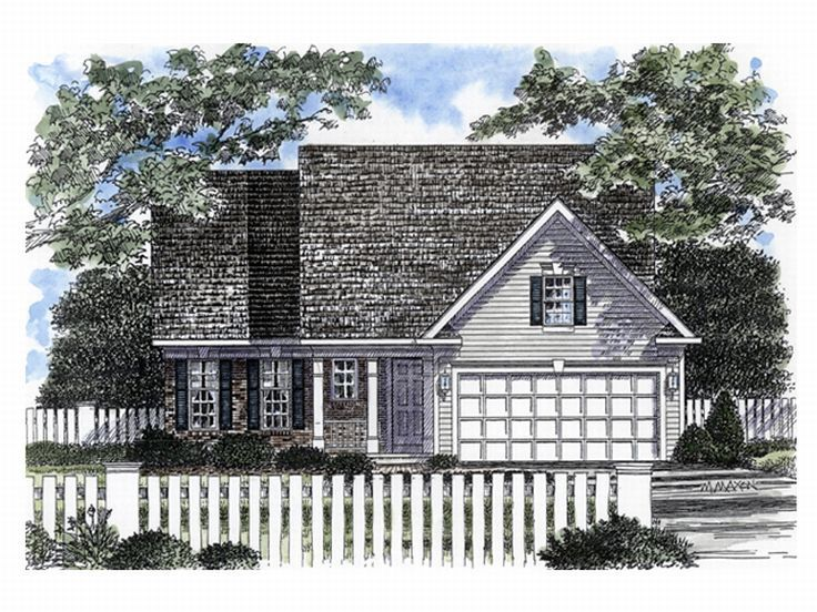 Small House Plan, 014H-0023