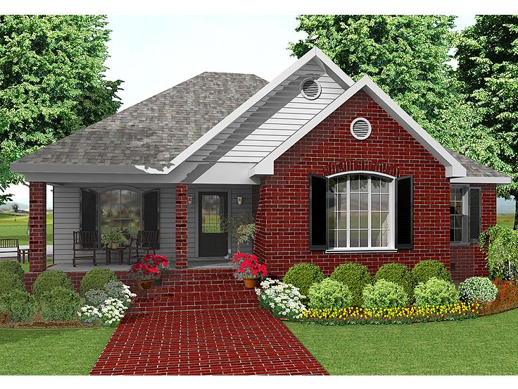 Small House Plan, 042H-0041
