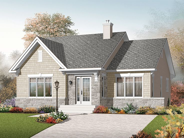 1-Story House Plan, 027H-0238