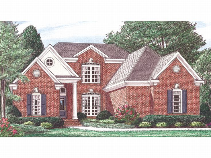 Traditional Home Plan, 011H-0014