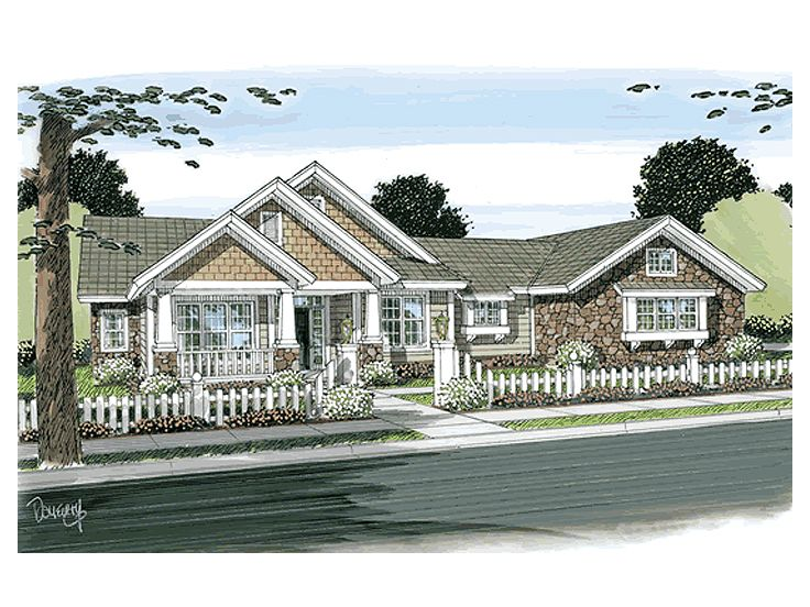 Craftsman Home, 059H-0117