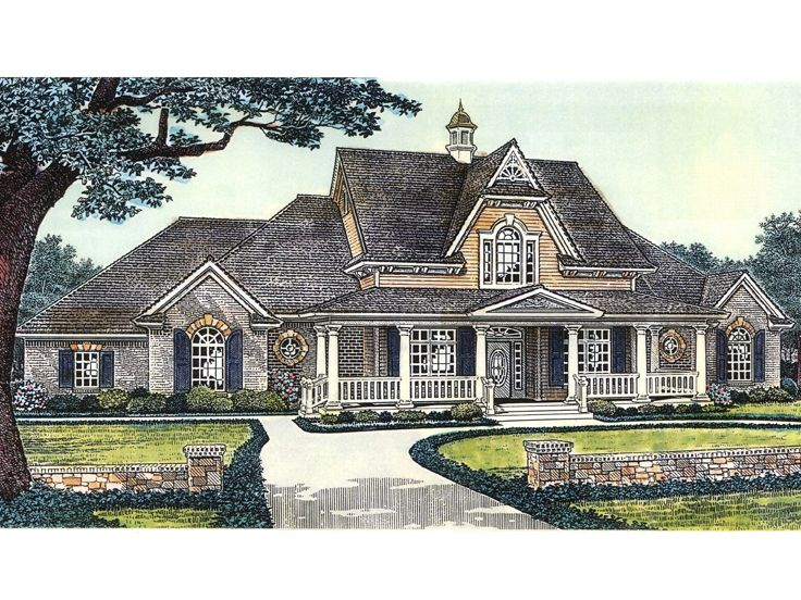 Country Home Plan, 002H-0079