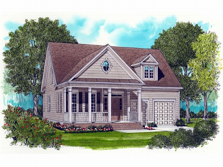Two-Story House Plan, 029H-0011