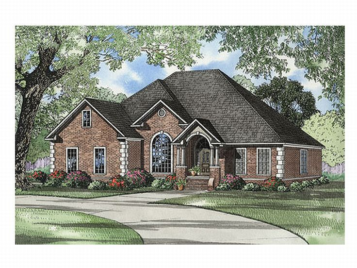Family House Plan, 025H-0133